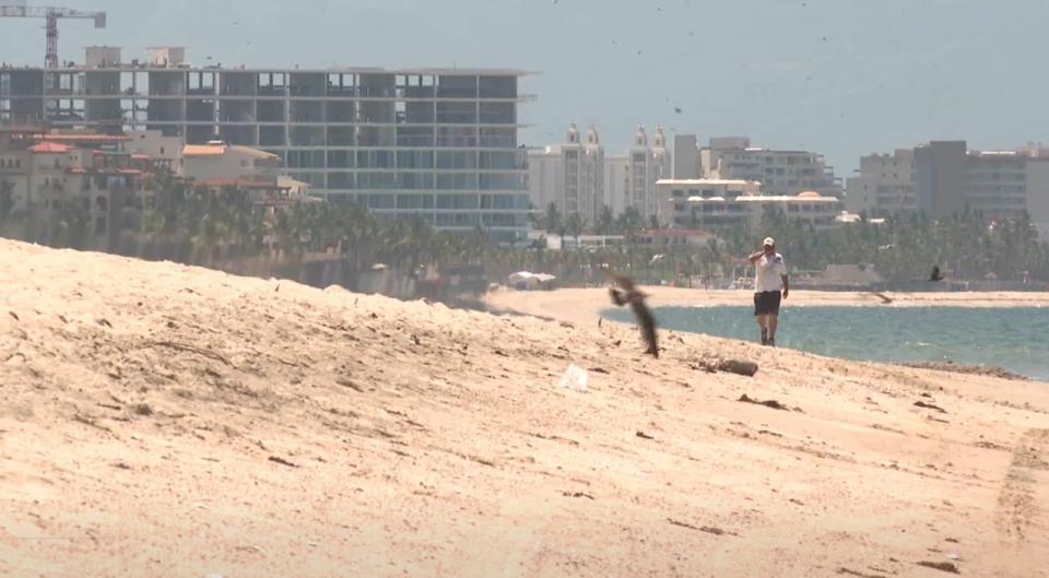 Playas cerradas en Bahía