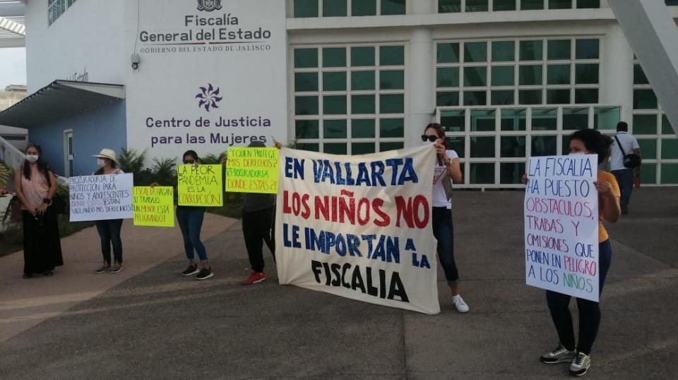 Manifestación Fiscalía