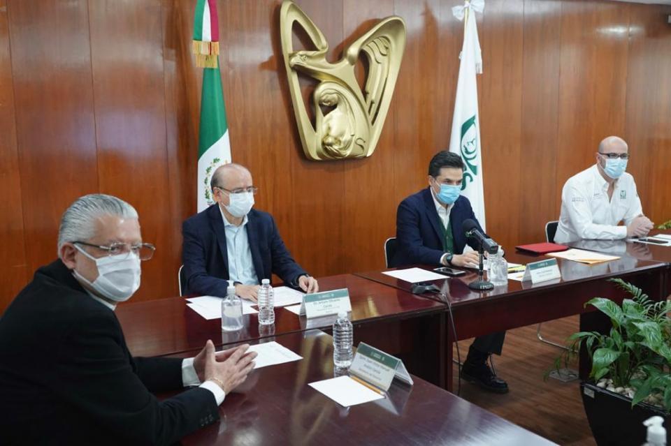 IMSS reunión