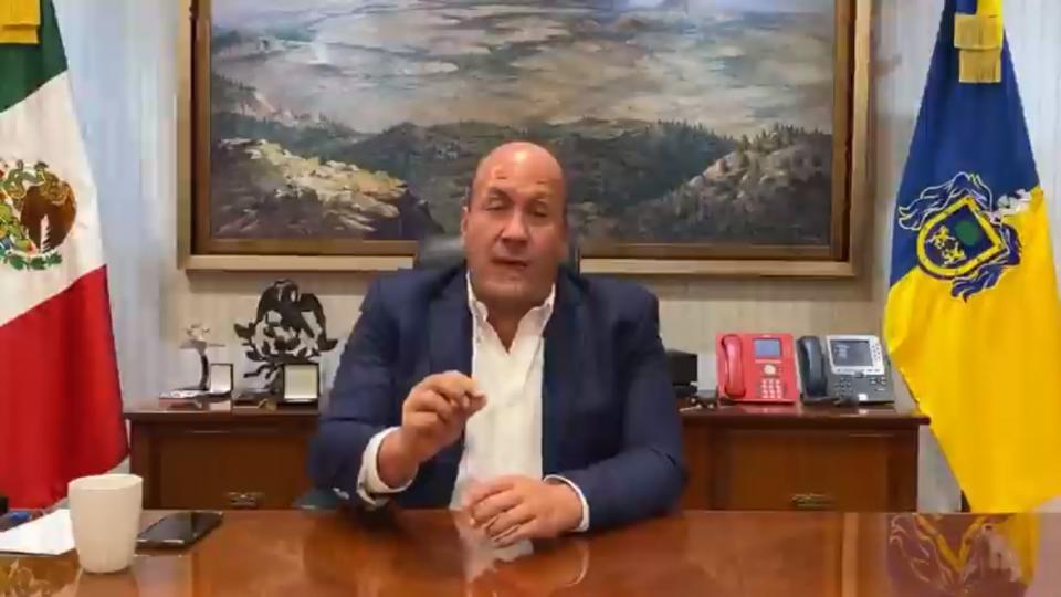 Alfaro responde a las amenazas del CJNG