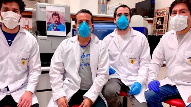 Científicos peruanos desarrollan una prueba rápida de covid-19