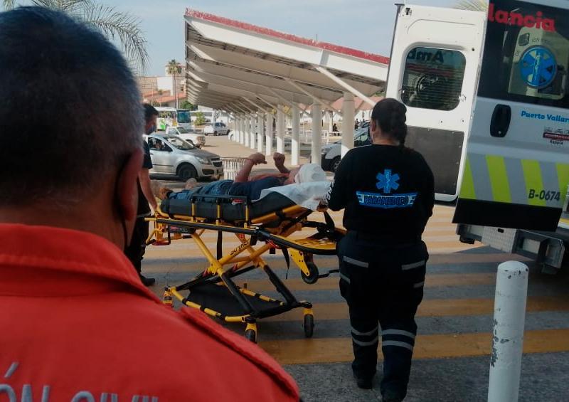 Obrero cae 6 metros de un andamio en zona de la Marina