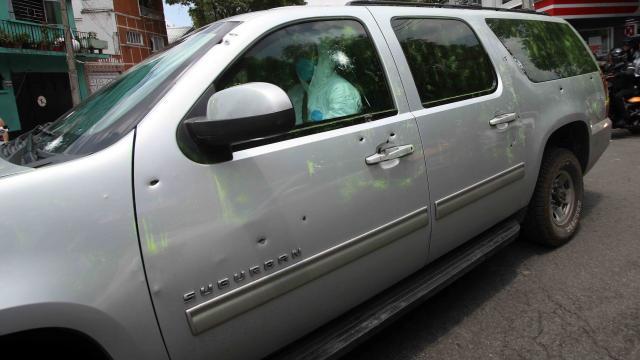 camioneta baleada en el ataque en cdmx un vallartense sicario partició en este acto delictivo