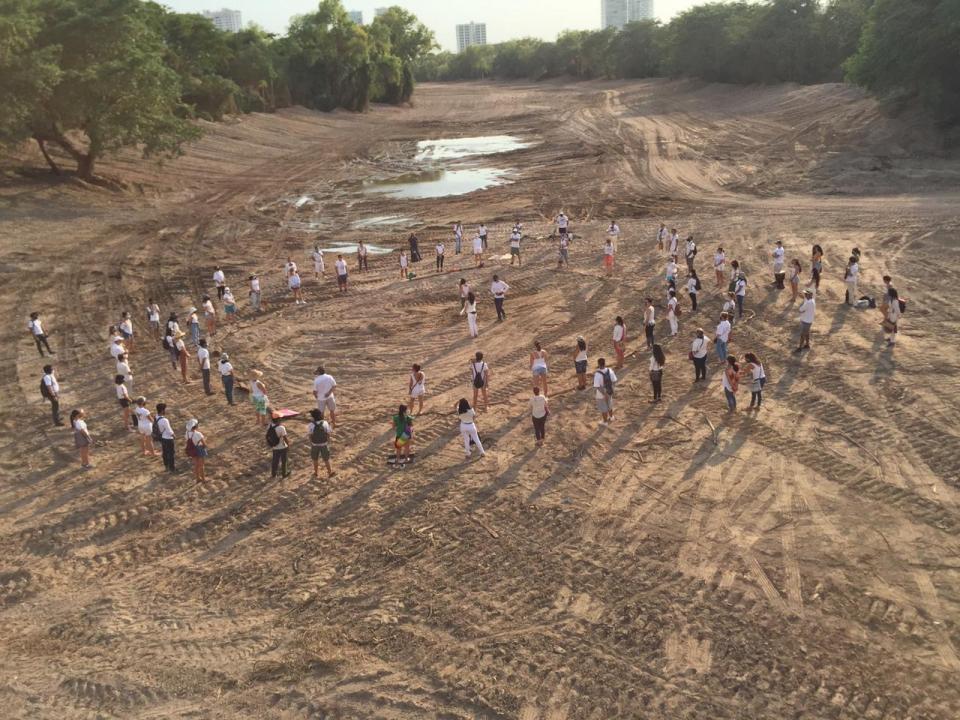 Manifestación Río Pitillal