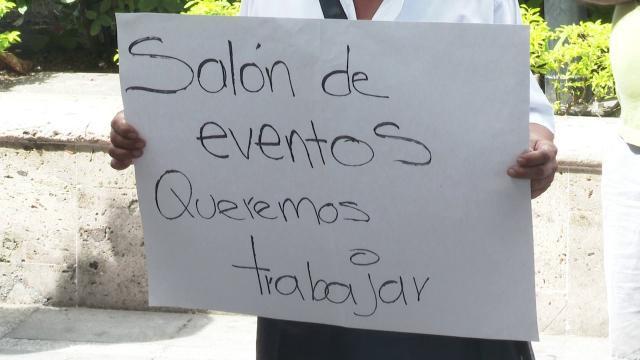 Manifestación presidencia