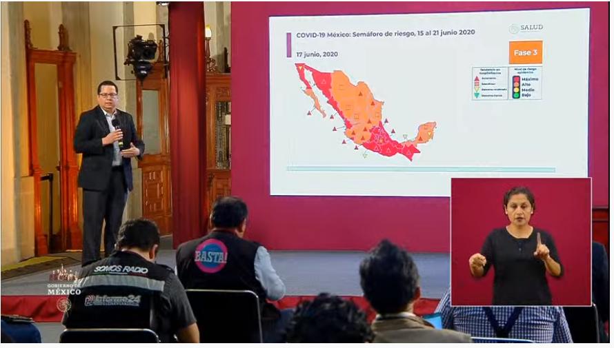 México acumula 159,793 casos y supera 19 mil muertes por covid-19