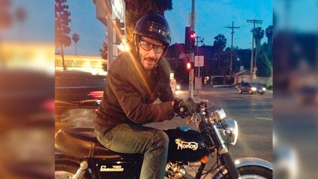 Así reaccionó Keanu Reeves ante el intenso tráfico