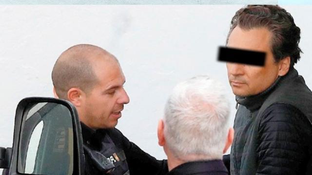 Detención de Emilio Lozoya en España