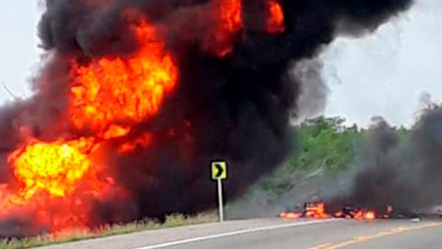 Explosión Colombia