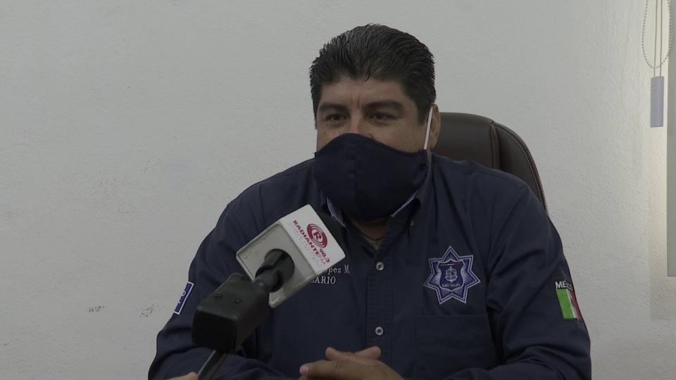 Entrevista al Comisario de Seguridad Ciudadana, Misael López Muro