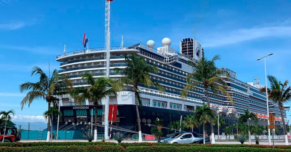 Crucero Koningsdam en Puerto Vallarta