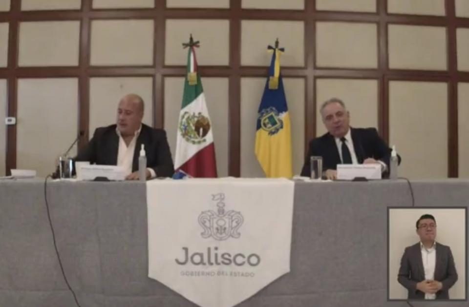 Alfaro en conferencia de prensa