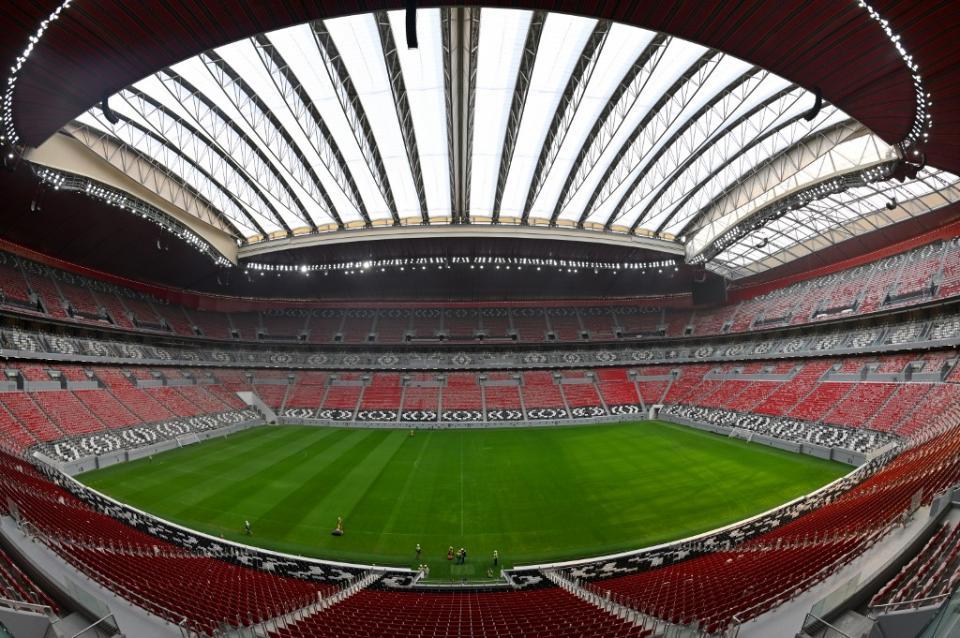 Estadio de fútbol en Qatar