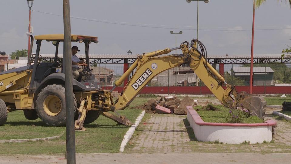 Máquina de construcción
