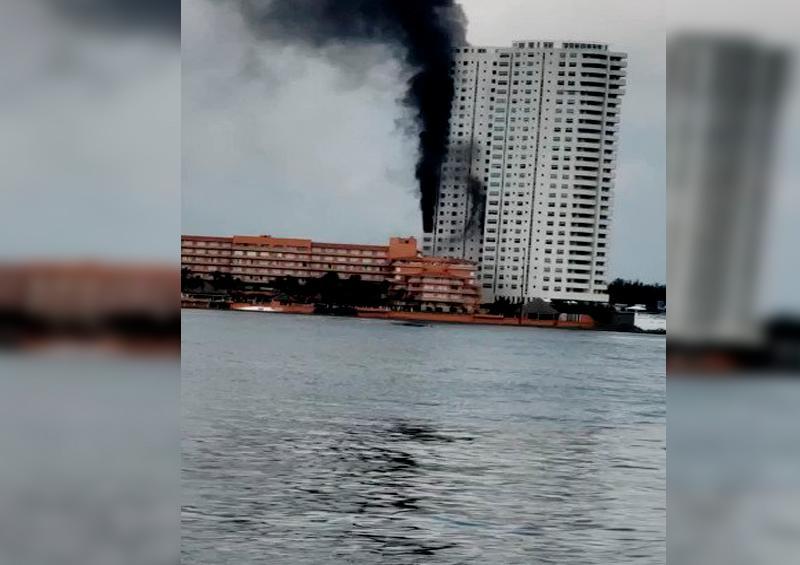 Incendio Veracruz