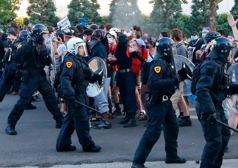 Manifestantes Utah