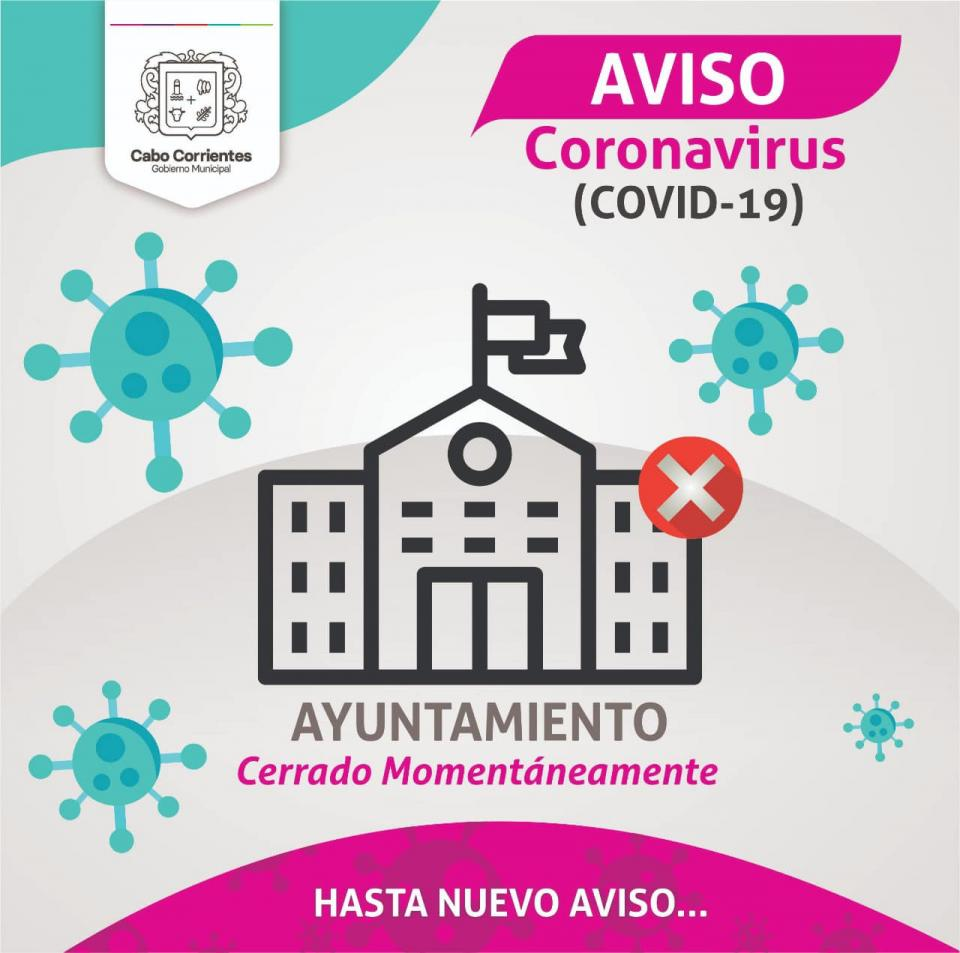 Comunicado del Ayuntamiento de Cabo Corrientes