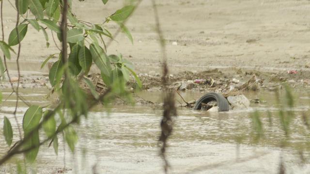 Basura en Río Pitillal