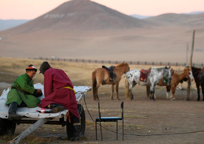 Jóvenes Mongolia