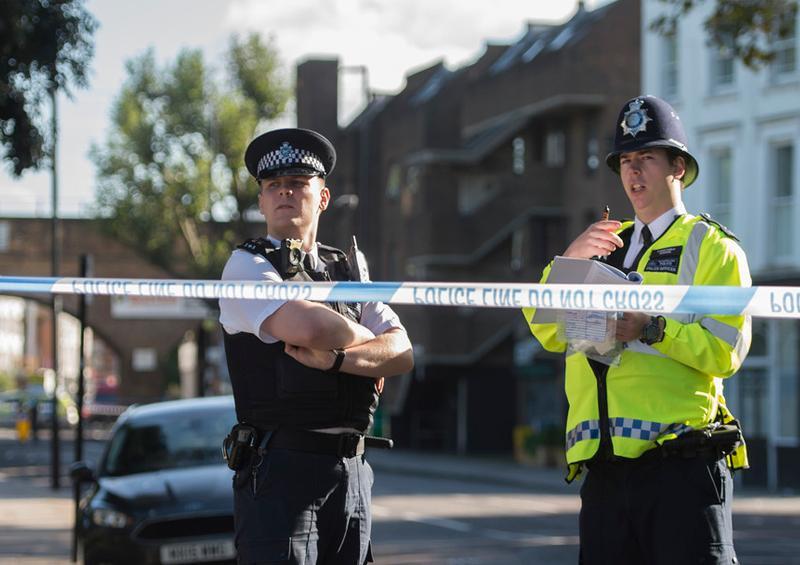 Policía de Gales