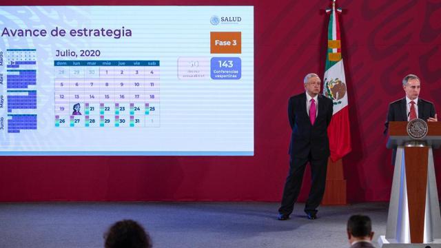 López-Gatell en conferencia de prensa