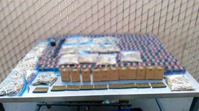 SAT decomisa 20 mil cartuchos en aduana de Nogales