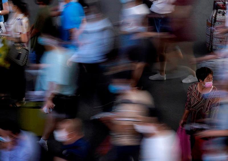 OMS reporta aumento record de covid