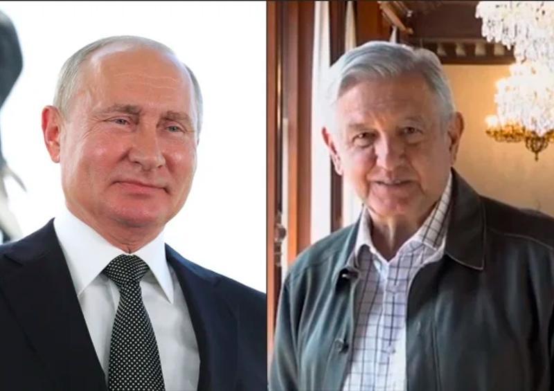 AMLO habla con Rusia para adquirir medicamento contra covid