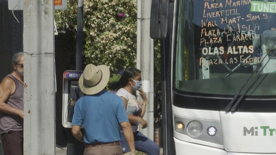 Pto. Vallrta-Transporte público