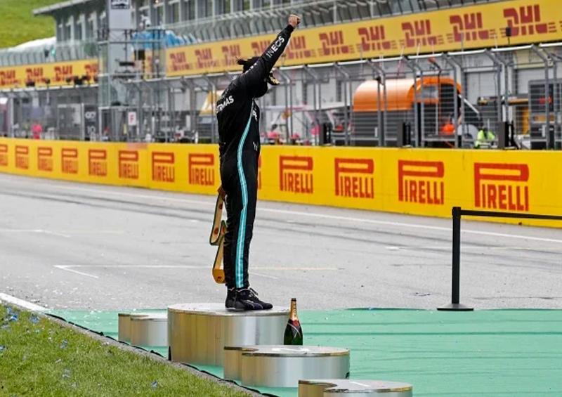 Gran Premio Estiria-Fórmula uno- Hamilton ganador