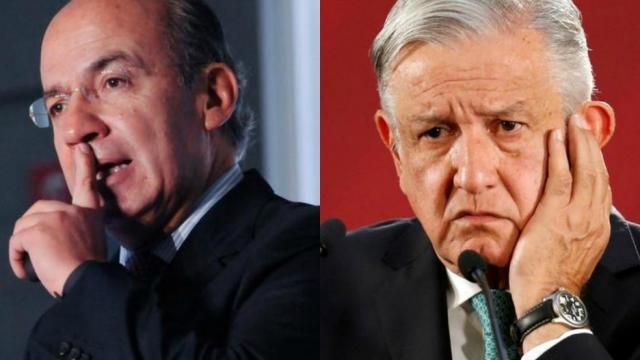 El expresidente de México dijo ser un perseguido político del presidente Andrés Manuel López Obrador.