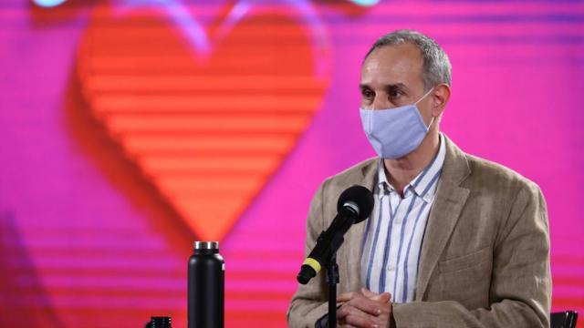 Informe diario por coronavirus, de Hugo López-Gatell.