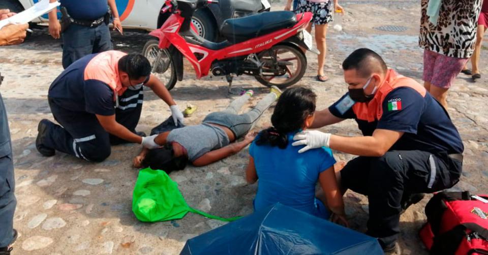Paramédicos protección civil