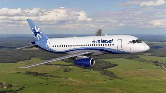 Interjet incrementa 88% frecuencias hacia diferentes destinos
