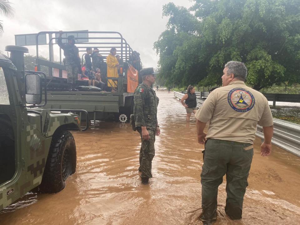 Inundaciones por Tormenta Tropical Hernan
