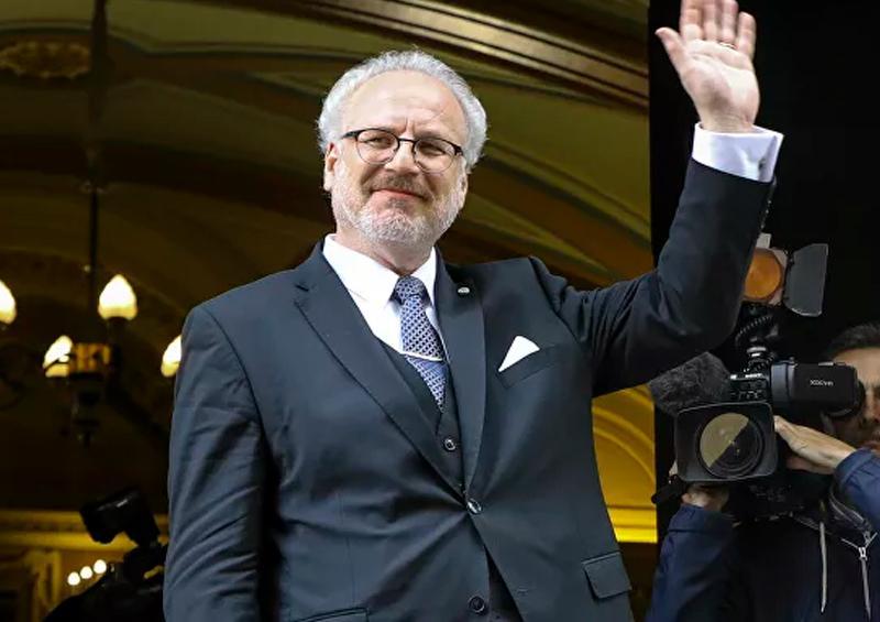 presidente de Letonia