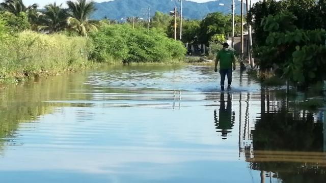 Inundación en San Vicente