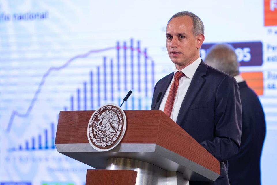 Hugo López-Gatell en conferencia matutina