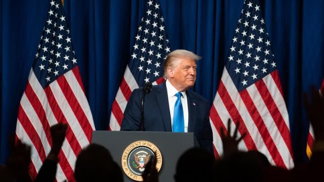 Convención Nacional Republicana el 24 de agosto de 2020 en Charlotte, Carolina del Norte.