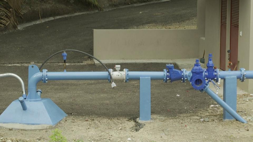 Falta tubería para llevar agua a tanque de Punta de Mita