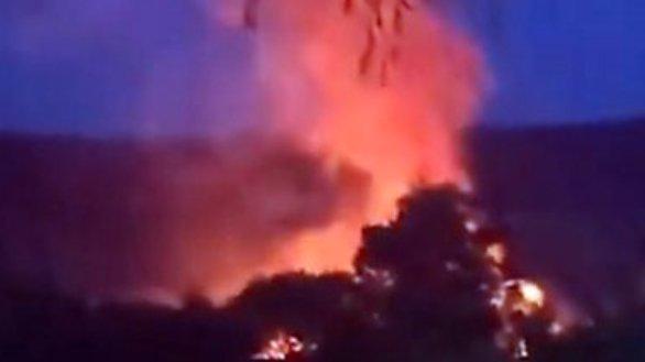 Explosión en Corea