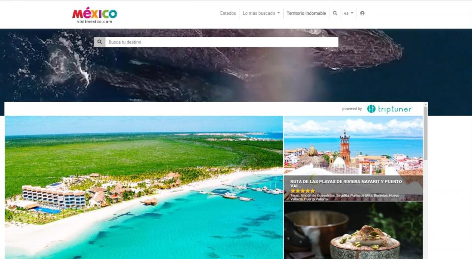 Se llevo a cabo el lanzamiento de la nueva plataforma de Visit México