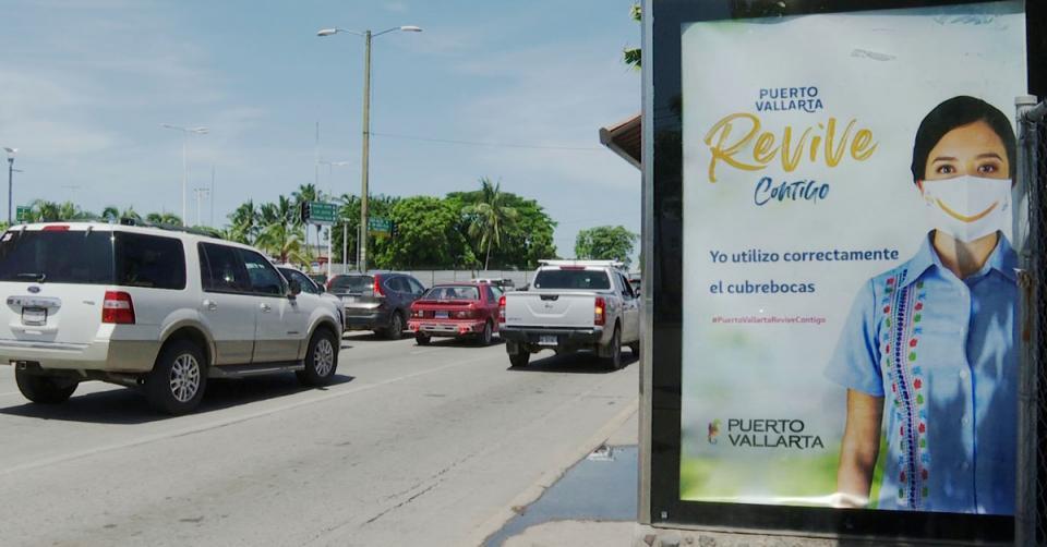 Campaña cubrebocas Puerto Vallarta