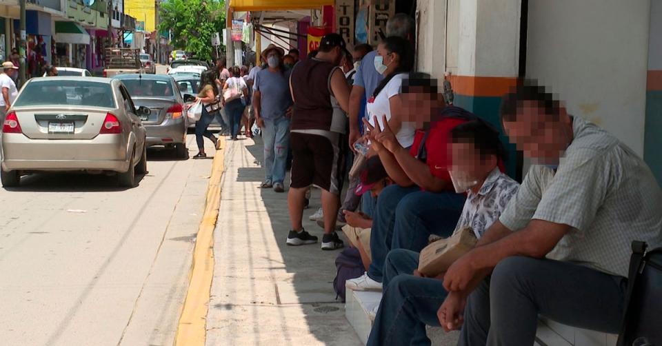 Parada de autobús en El Pitillal