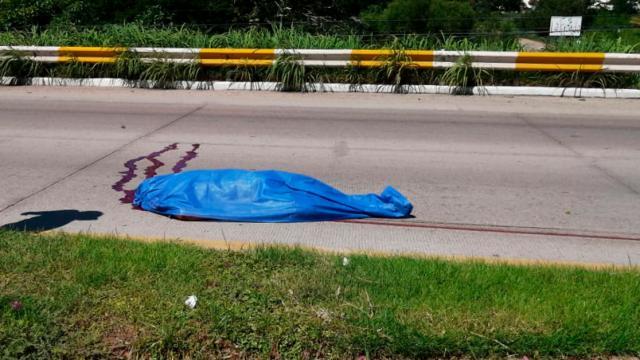 Persona atropellada en Bahía de Banderas