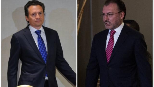 """Luis Videgaray declaró que las acusaciones de Emilio Lozoya sobre los supuestos sobornos de la Reforma Energética, son """"absurdas, temerarias e inconsistentes"""", además de falsas."""
