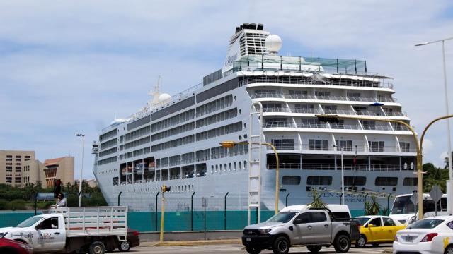 Crucero Seven Seas en Puerto Vallarta