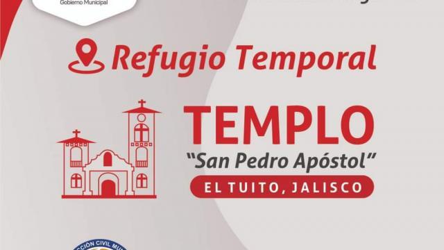 Refugio temporal en Cabo Corrientes
