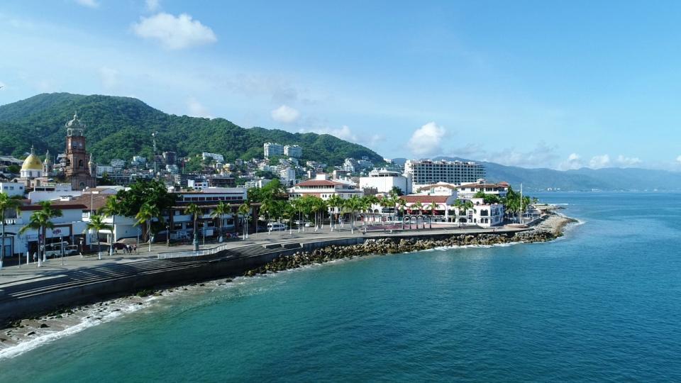 Vista aérea de Puerto Vallarta