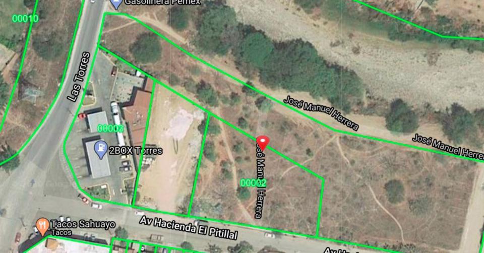 Mapa Pitillal